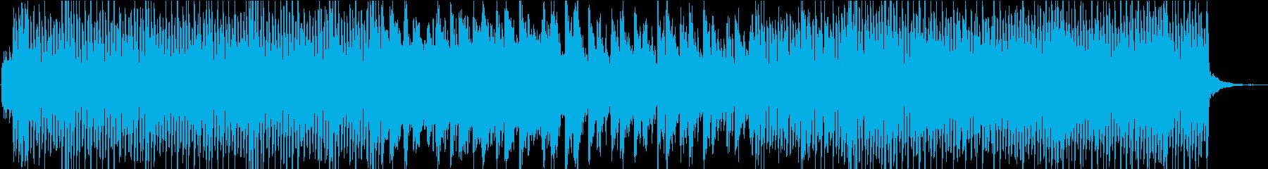 フルートメイン 爽やかでかわいいBGM の再生済みの波形