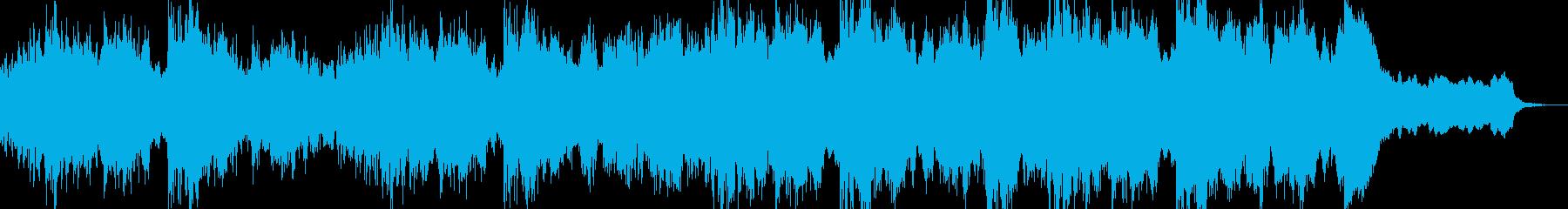 ハリウッド映画のワンシーンのようなBGMの再生済みの波形