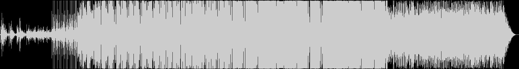ファンキーでノリノリな曲の未再生の波形