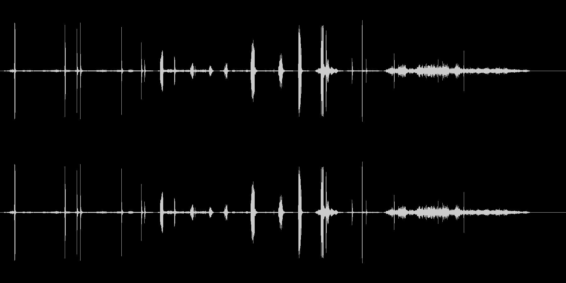 モーヘンの未再生の波形
