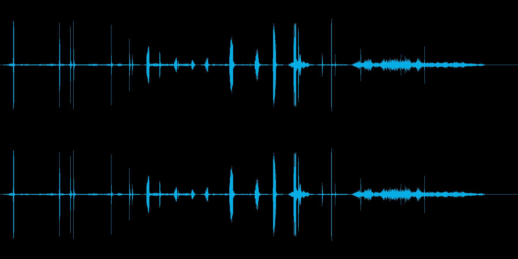 モーヘンの再生済みの波形
