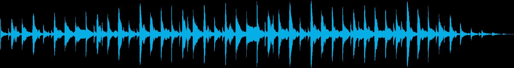 水滴の落下と広がる波紋をイメージした曲…の再生済みの波形