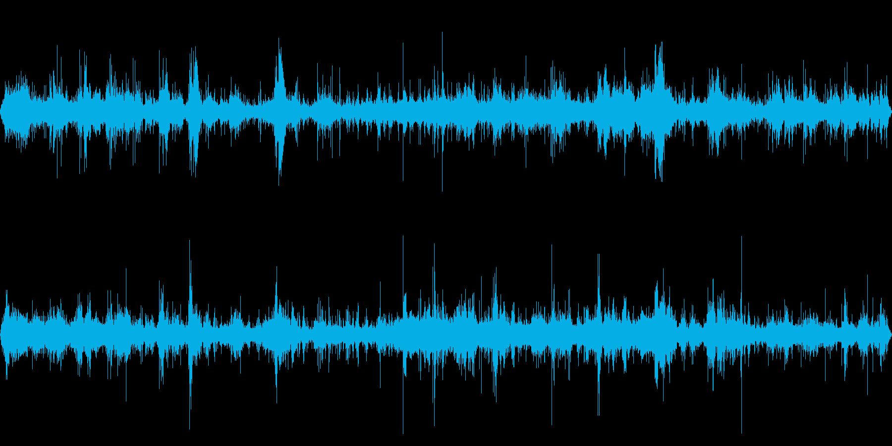 【四国最東端】蒲生田岬の波音04の再生済みの波形