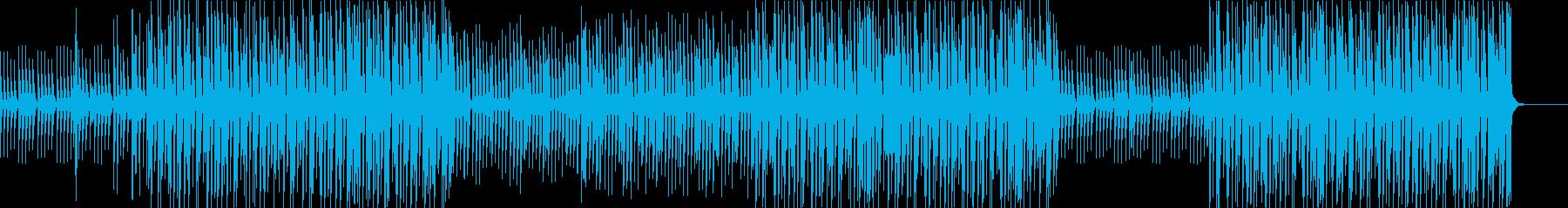 お洒落スタイリッシュなボーカルCHOP!の再生済みの波形