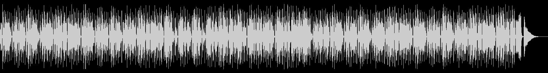 リコーダーがのどかなジプシージャズの未再生の波形