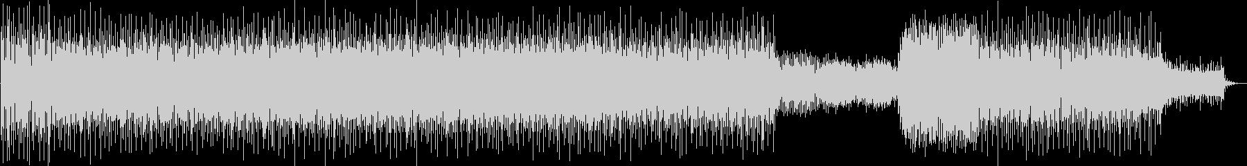 サスペンスタッチのミニマルテクノの未再生の波形