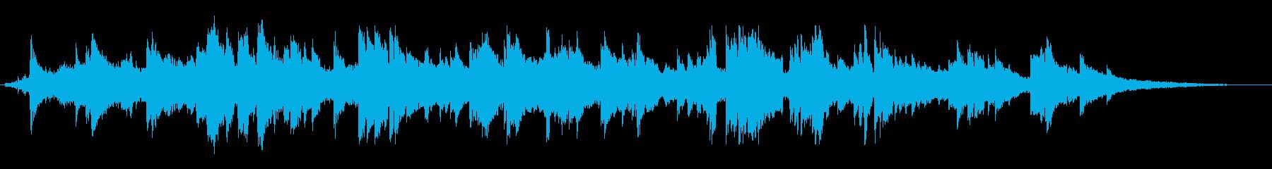 伝統的 ジャズ ビバップ サラサラ...の再生済みの波形