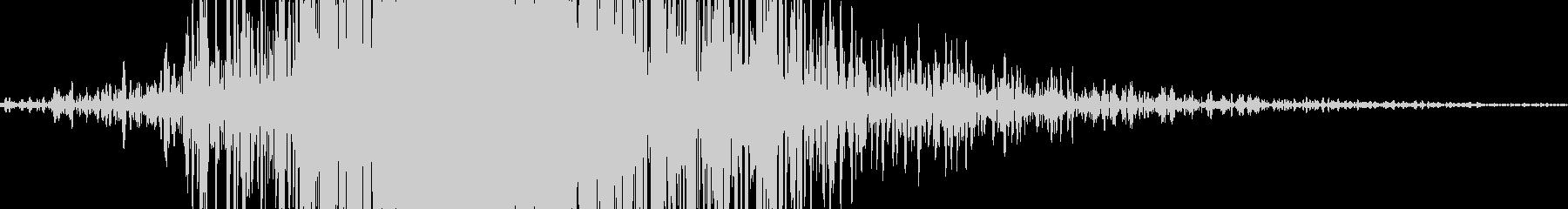 ビュン 風切り音 スイング音  (低め)の未再生の波形