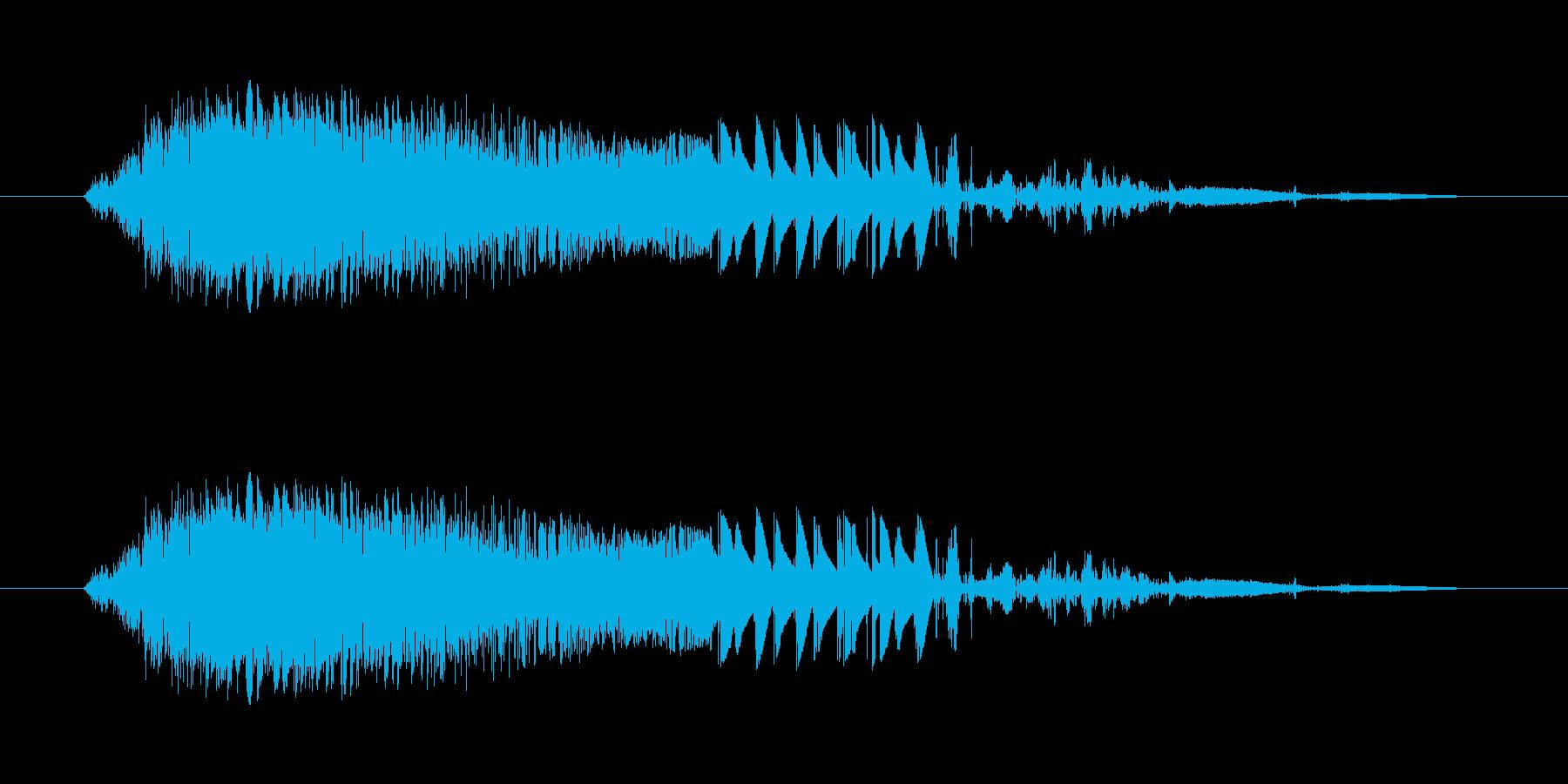 斬撃5【突き刺す斬撃】の再生済みの波形