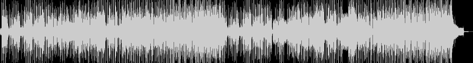 トランペットのミステリアスなBGMの未再生の波形