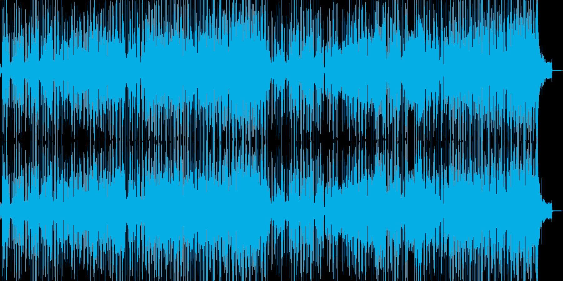 トランペットのミステリアスなBGMの再生済みの波形