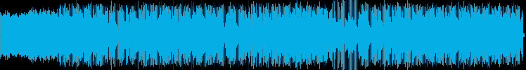 トランス。メロディシンセの再生済みの波形
