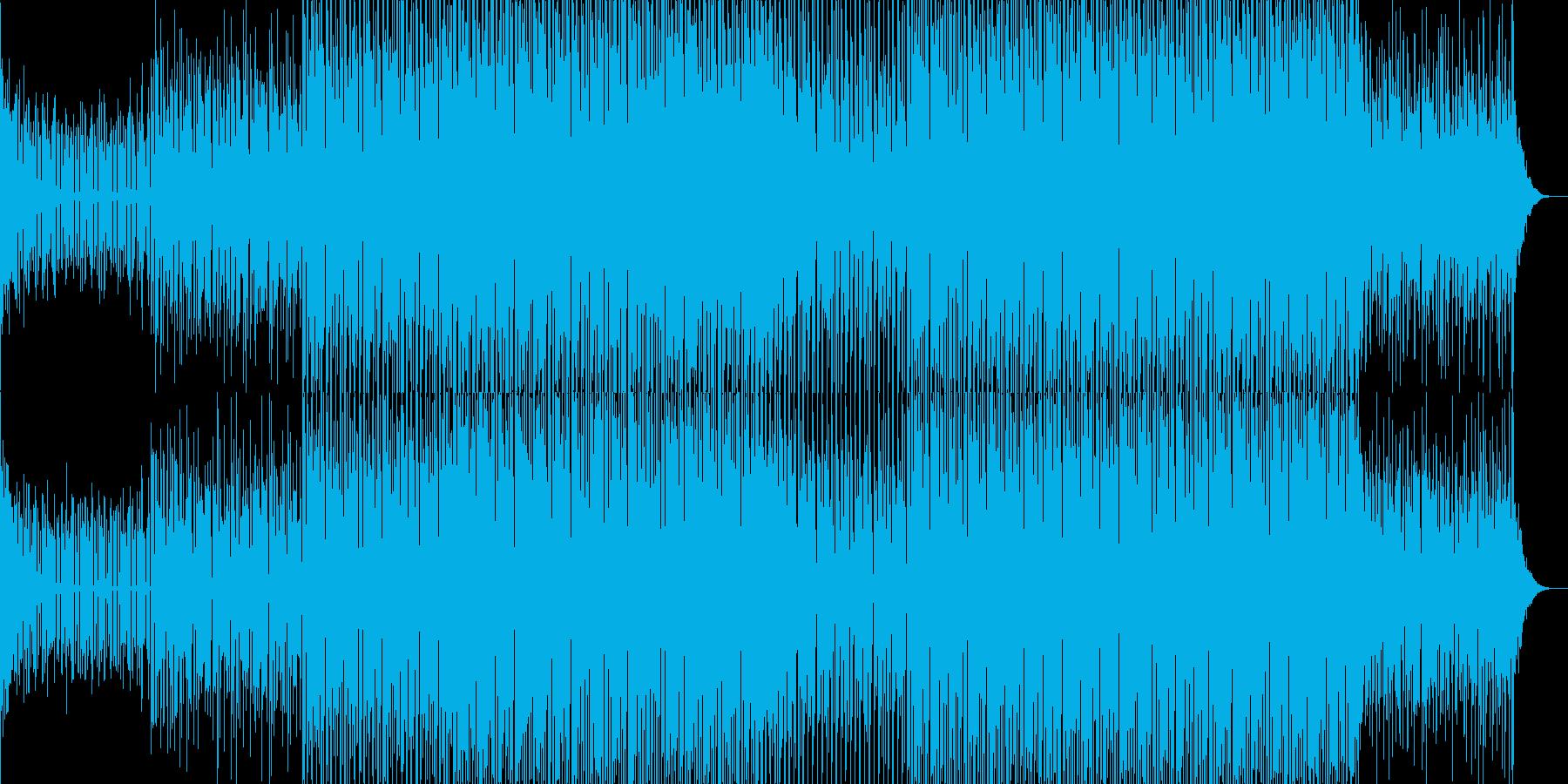 EDMクラブ系ダンスミュージック-25の再生済みの波形