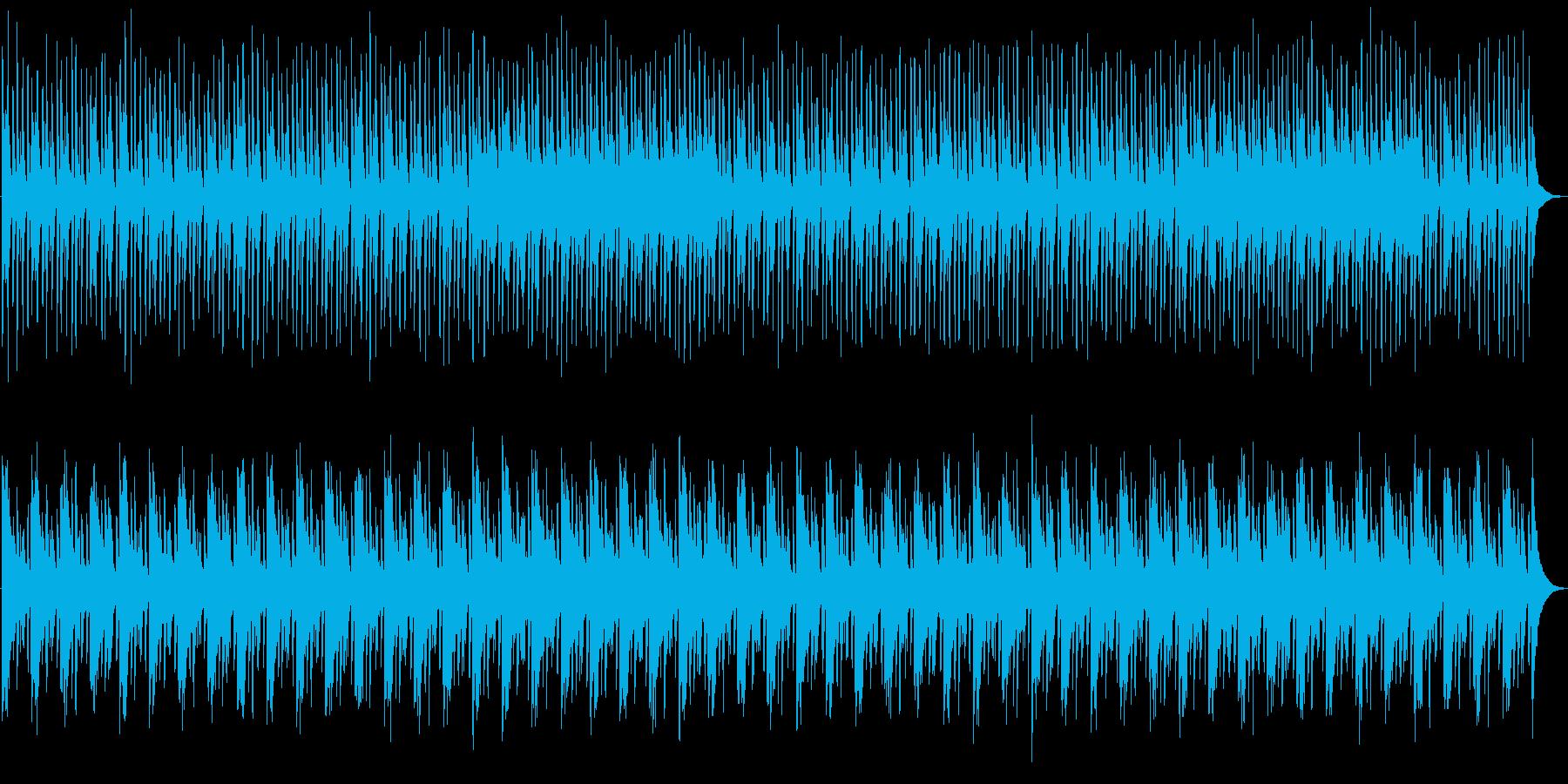 優しいオルゴールのエンディングの再生済みの波形