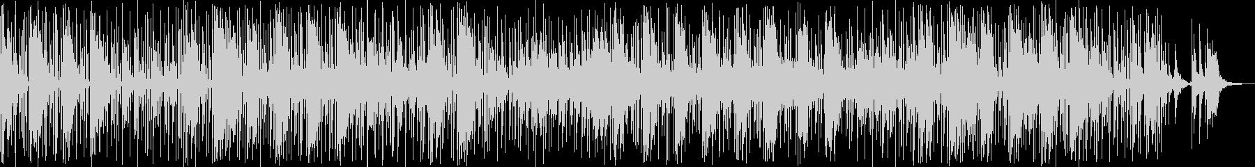 ドラム、ベース、エレクトリックピア...の未再生の波形