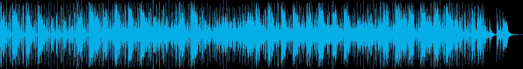 ドラム、ベース、エレクトリックピア...の再生済みの波形