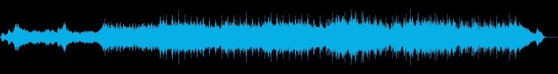 神秘的かつスペーシーなアンビエントの再生済みの波形