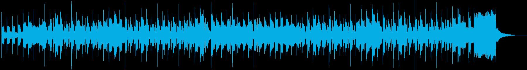 オルガンによる明るく無邪気なジングルの再生済みの波形