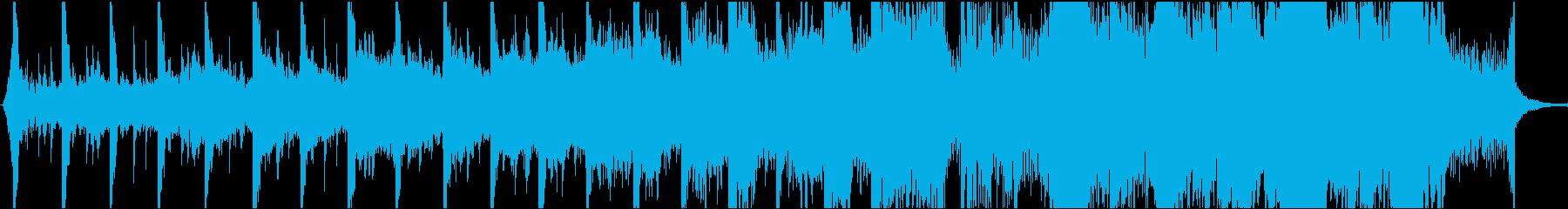 現代的 交響曲 エレクトロ アンビ...の再生済みの波形