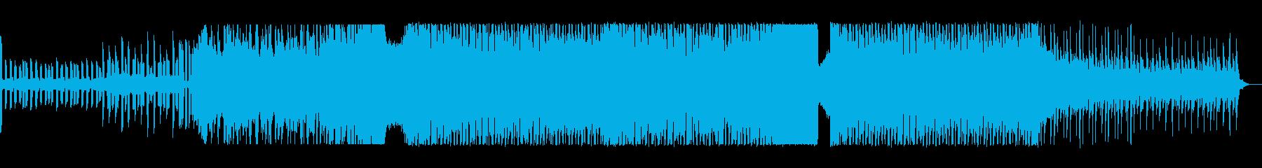 リズム感がある可愛いポップスの再生済みの波形