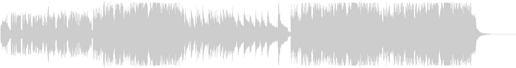 尺八、琴、チェロ 和風のメロディの未再生の波形