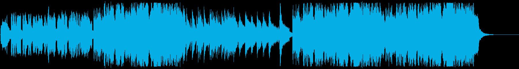 尺八、琴、チェロ 和風のメロディの再生済みの波形
