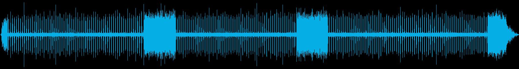ラチェットローンスプリンクラー:開...の再生済みの波形