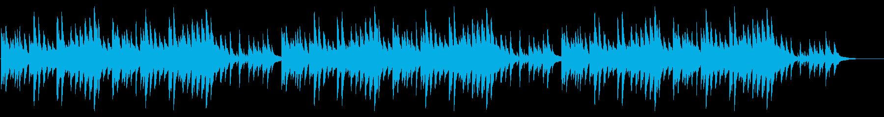 童謡「赤とんぼ」シンプルなピアノソロの再生済みの波形
