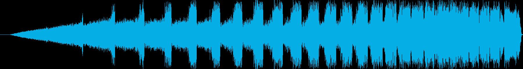 【ぴよぴよぴよ/電子音/機械/未来】の再生済みの波形