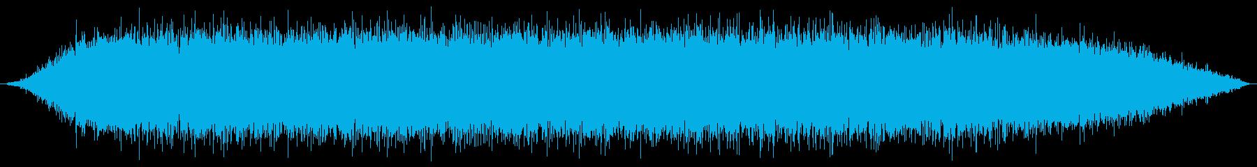 ドライヤー(ターボ)の再生済みの波形