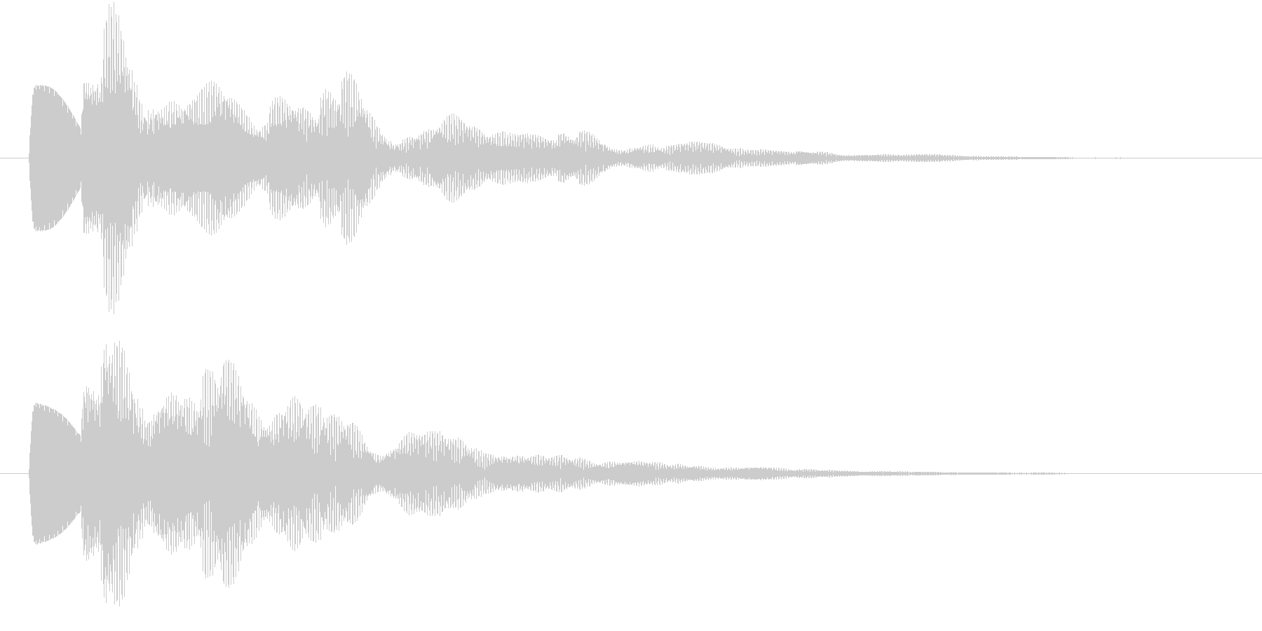 キラーン(ひらめき・アイテム発見・獲得)の未再生の波形