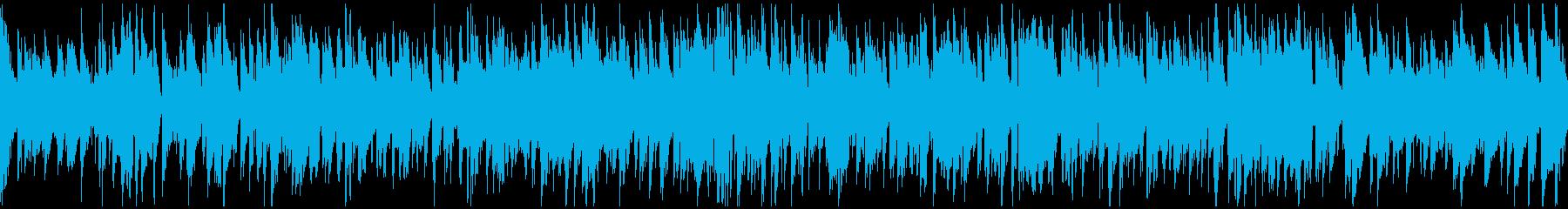 大人のジャズ、お洒落なスイング※ループ版の再生済みの波形