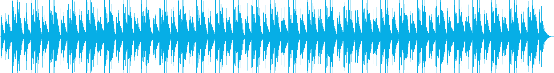 シーケンス 面白いシンセシーケンス01の再生済みの波形