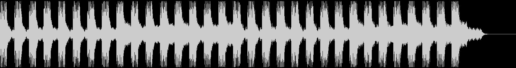 雨ふり アコギ66/生音使用のクールな曲の未再生の波形