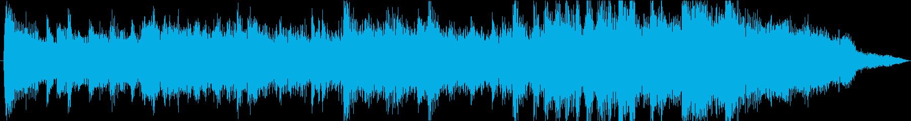 15秒CMに 明るく爽やかで軽快なBGMの再生済みの波形