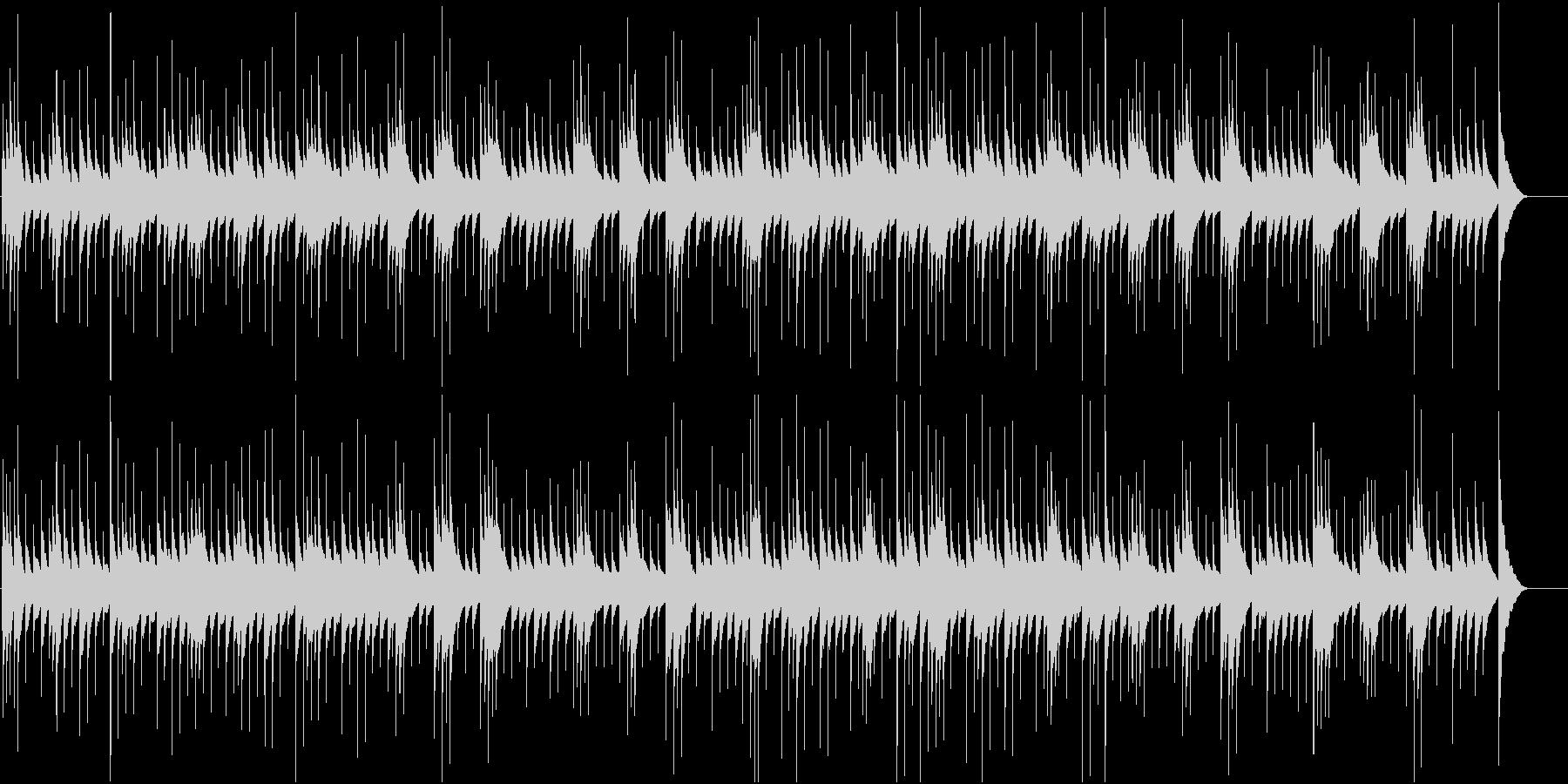ノスタルジックで切ないオルゴールの未再生の波形