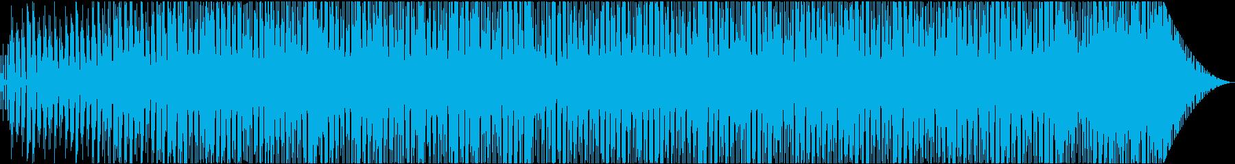 都会的でジャジーなレイドバックピアノの再生済みの波形