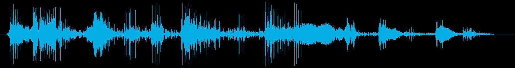 ハードスタティック1の再生済みの波形
