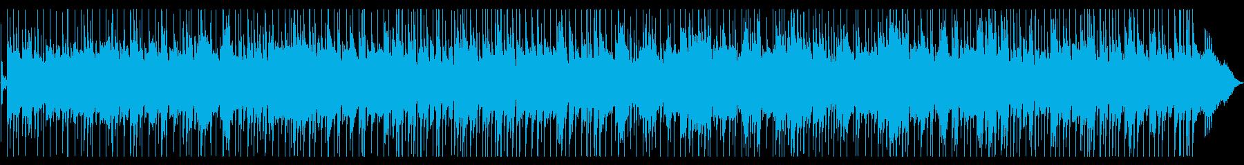 ねっとりしたスローバラードの再生済みの波形