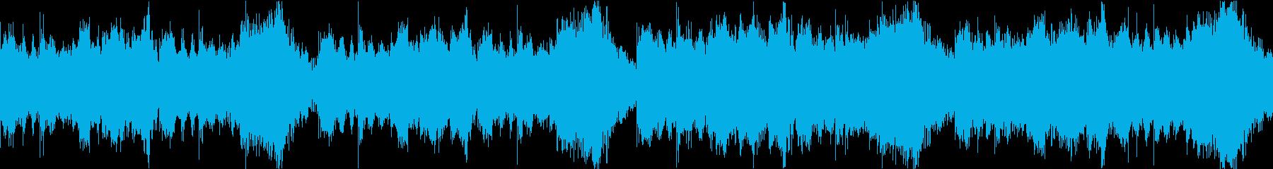サスペンス/戦闘/ホラー/ループ処理済の再生済みの波形