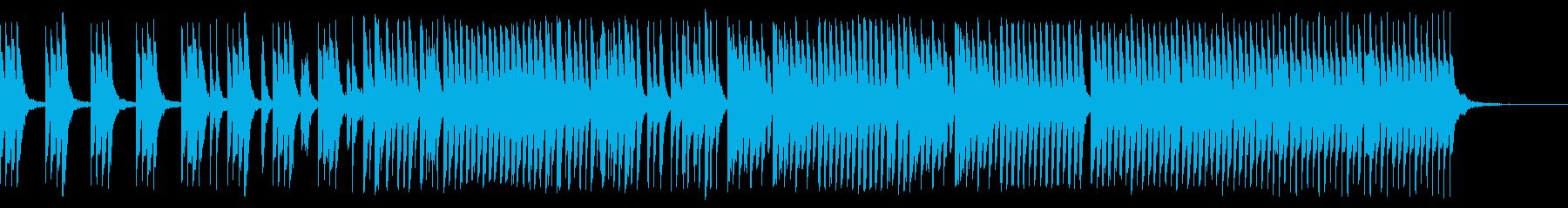 かわいく元気、軽快でコミカルなピアノソロの再生済みの波形