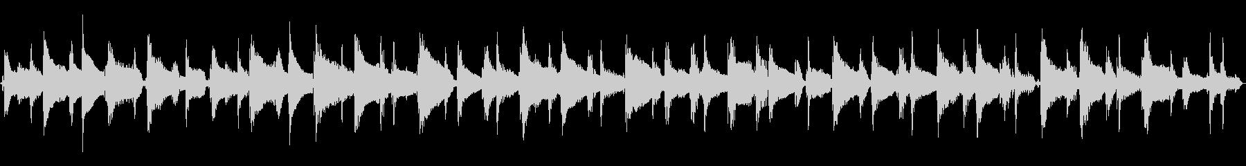 24秒ループ/可愛いウクレレポップスの未再生の波形