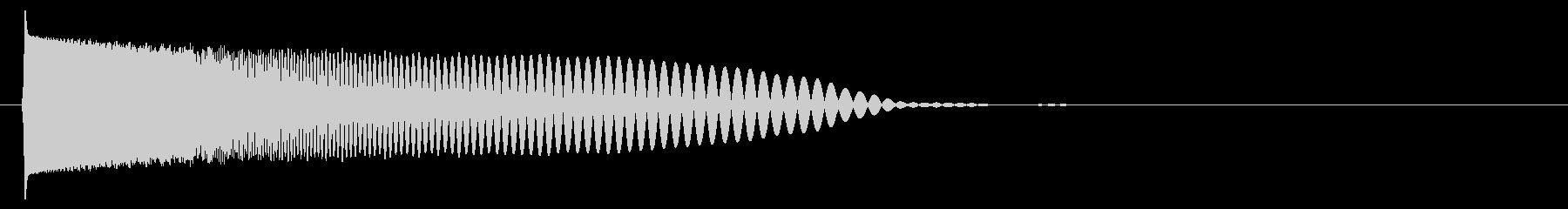 クラブ系 スワイプ音6の未再生の波形