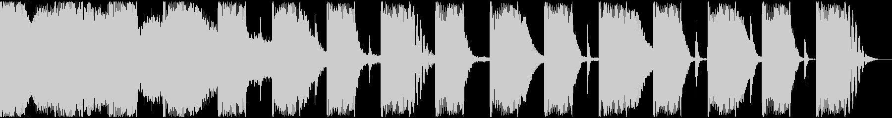 【エレクトロニカ】ロング2、ショート1の未再生の波形
