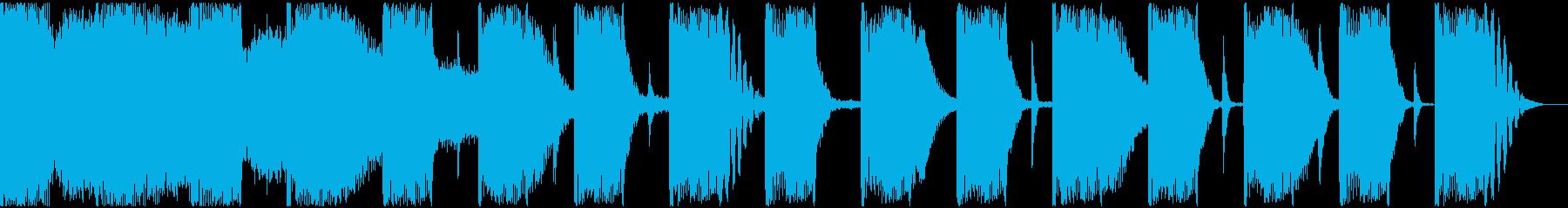 【エレクトロニカ】ロング2、ショート1の再生済みの波形
