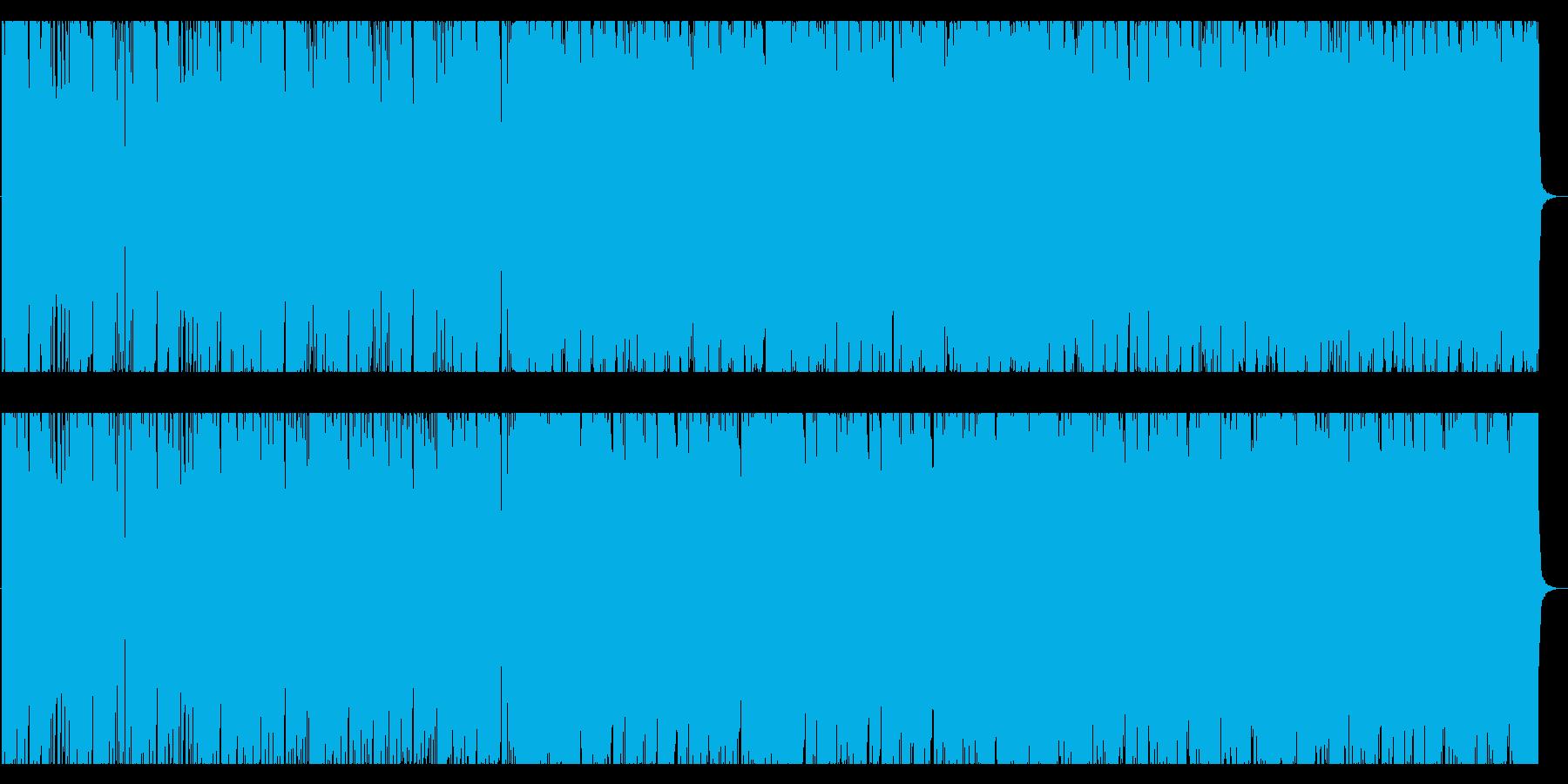 疾走感/ロック/エレクトロNo398_3の再生済みの波形