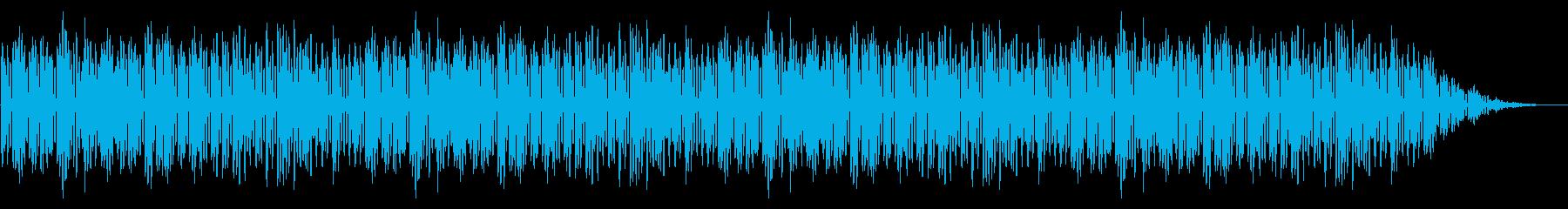 GB風レースゲームのストーリー曲の再生済みの波形