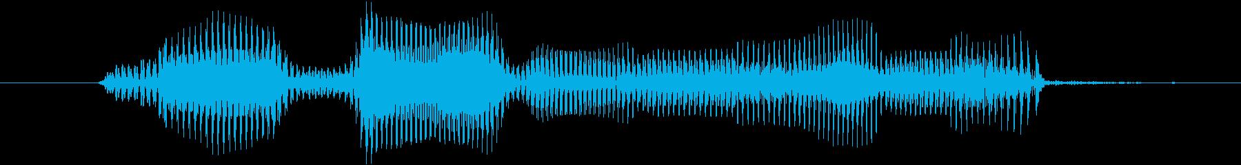 レベル7(なな)の再生済みの波形
