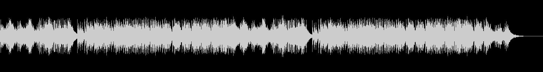シリアスなサウンドが響くデジタルサウンドの未再生の波形