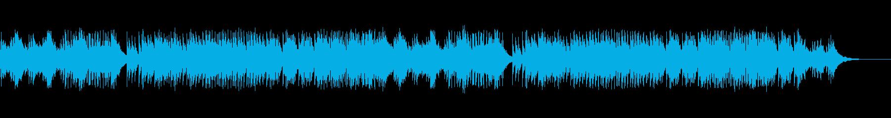 シリアスなサウンドが響くデジタルサウンドの再生済みの波形